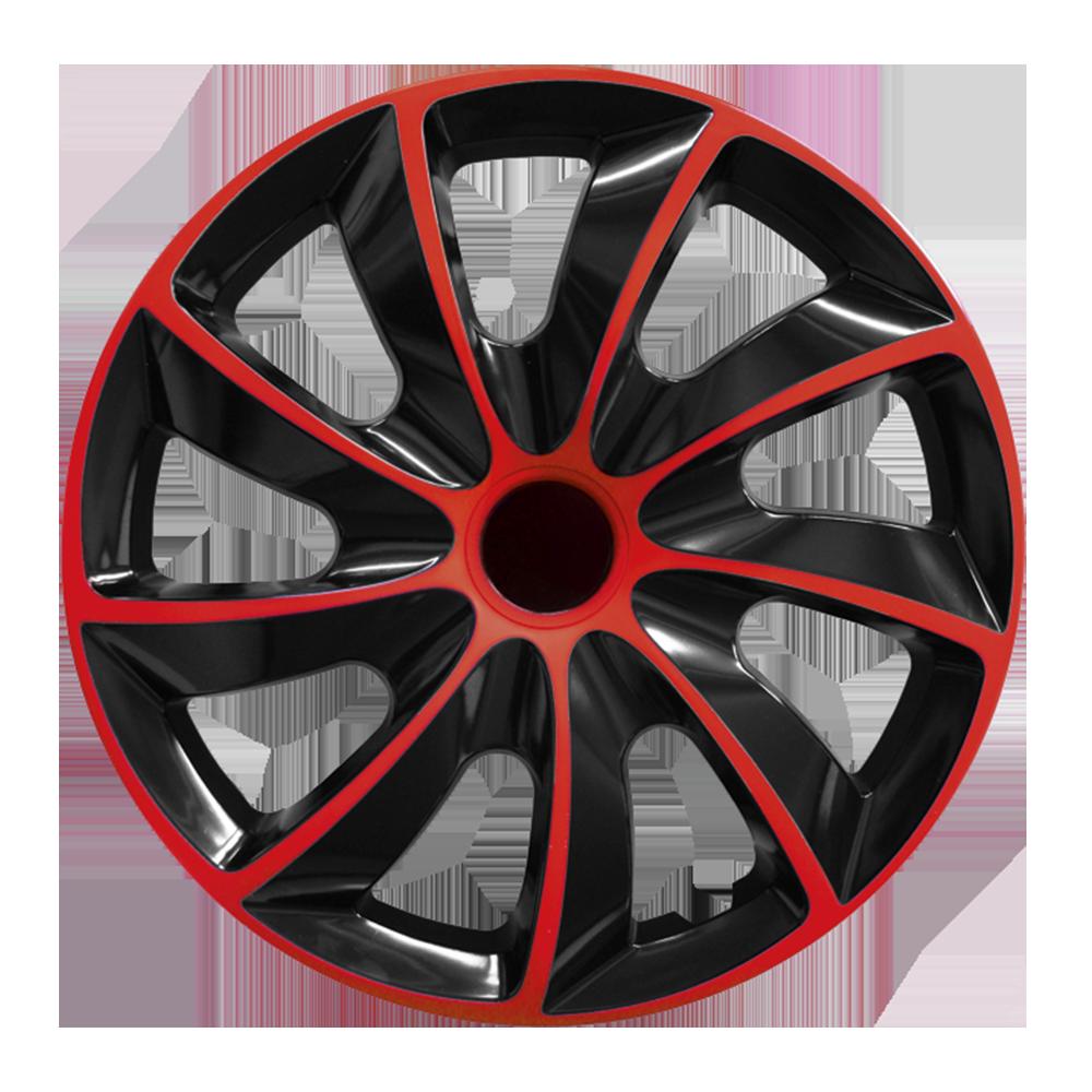 Radkappe Quad 13 Zoll Rot