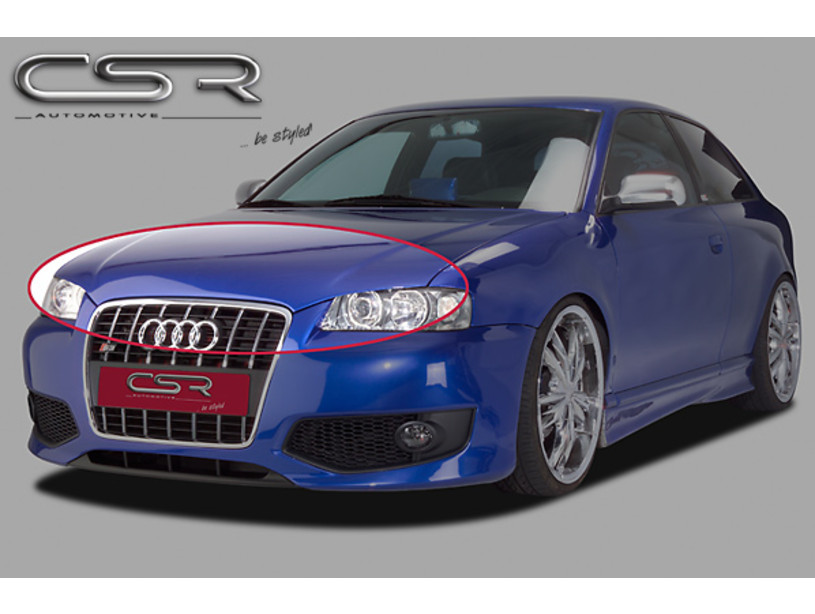Motorhaubenverl ngerung B ser Blick SF Line Audi A3 8L