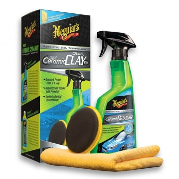 Meguiar's Hybrid Ceramic Quick Clay Kit