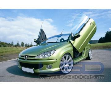 LSD Flügeltüren Peugeot 206 Cabrio
