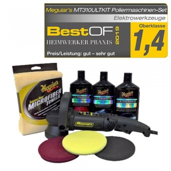 Meguiar's Professional Dual-Action Polisher Ultimate Kit