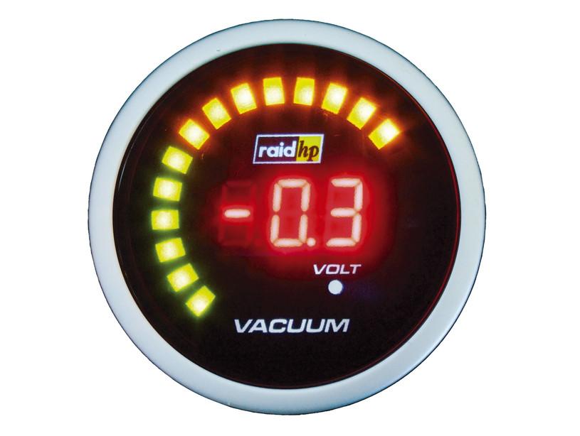 raid hp night flight digital red vakuumanzeige. Black Bedroom Furniture Sets. Home Design Ideas