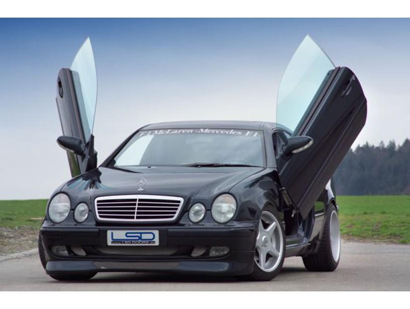 Lsd fl gelt ren mercedes benz clk w208 for Mercedes benz suicide doors