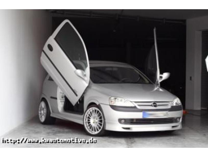 Verbazingwekkend LSD Flügeltüren Opel Corsa C IK-95