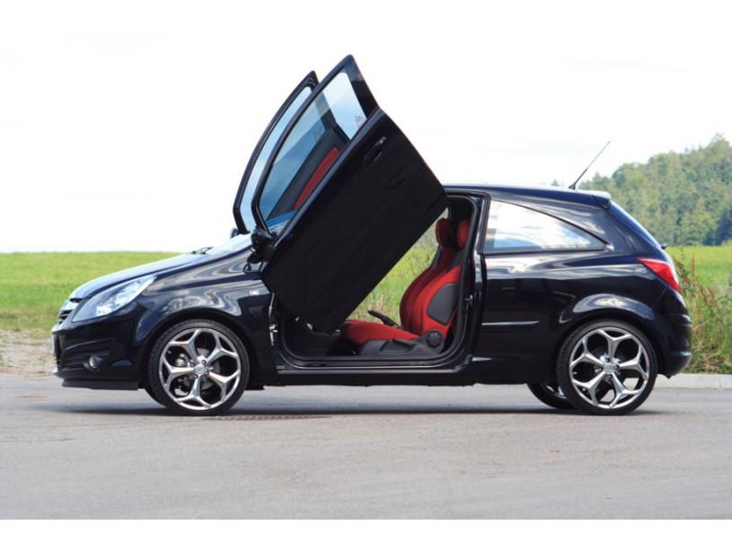 Flügeltüren Opel Corsa D